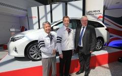 欧州トヨタ、新型オーリスのワゴンを英国工場で生産開始 画像