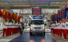 フォードのグローバル主力商用車、トランジット…累計生産台数700万台 画像