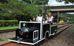 スーパーカートが再び日本一の鉄道橋を走る…高千穂あまてらす鉄道 画像