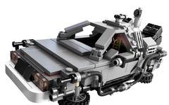 バック・トゥ・ザ・フューチャーのクルマ型タイムマシン デロリアン、レゴブロックで発売 画像