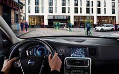 【ボルボ 2014年モデル 発表】サイクリスト検知機能を導入…自転車への追突事故を低減 画像