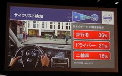 """【ボルボ 2014年モデル 発表】""""ビジョン2020""""に向けた自転車事故回避システム 画像"""