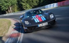 【フランクフルトモーターショー13】ポルシェ 918スパイダー、ニュルで市販車最速…6分57秒 画像