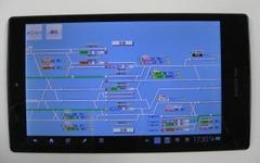 JR西日本もタブレット導入…京阪神地区の運行情報案内を強化 画像