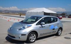 【CEATEC13】日産、自動運転車のデモ走行を日本初公開 画像