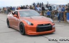 日産 GT-R に1500psの怪物、0-400m加速で欧州最速…8秒47[動画] 画像