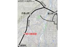 JR西日本、富山の社会実験臨時駅を常設化…婦中鵜坂駅 画像
