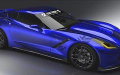 【SEMAショー13】シボレー コルベット 新型に「グランツーリスモ6」バージョン 画像