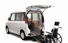 マツダ、フレアワゴン 車いす移動車 を発売 画像