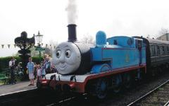 大井川鐵道の蒸気機関車が「きかんしゃトーマス」に…2014年夏運転 画像