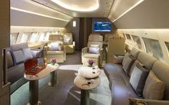【ドバイ航空ショー13】エアバス、2機の社有ジェット機を紹介 画像