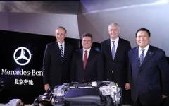 メルセデスベンツ、中国にエンジン工場が完成…ドイツ以外で初 画像