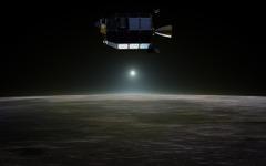NASA月探査機LADEEが予定の月周回軌道で観測を開始 画像