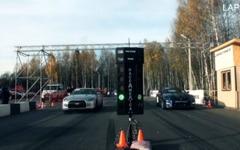 日産 GT-R、世界最速決定戦…パワーは1500ps超、0-1600m加速を競う[動画] 画像