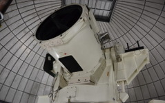 国内唯一の宇宙光通信専用1.5メートル望遠鏡を公開…情報通信研究機構 画像