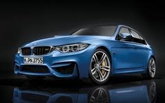 BMW M3セダン 新型と M4 クーペ、公式発表…3.0直6ツインターボは431ps 画像