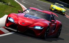 トヨタのスポーツカーコンセプト、FT-1…グランツーリスモ6で走る[動画] 画像