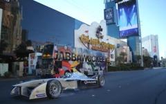 EV レーサー、フォーミュラ E …ラスベガス市街地を行く[動画] 画像