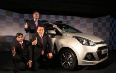【デリーモーターショー14】ヒュンダイ、小型セダンの エクセント 発表…インド乗用車シェア2位を死守 画像