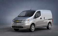 【シカゴモーターショー14】GM シボレー、シティエクスプレスを初公開…日産NV200バネットが変身 画像
