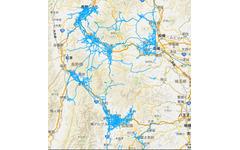 ホンダ、大雪の甲信地方の道路通行実績をスマホなどにも公開 画像