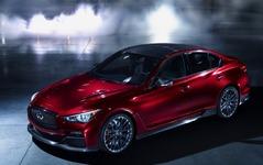 【ジュネーブモーターショー14】日産 スカイライン 新型の高性能版、インフィニティ Q50 オールージュ…エンジンの詳細発表へ 画像