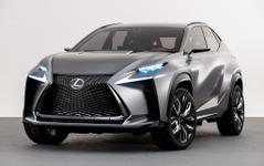 【北京モーターショー14】レクサスの小型クロスオーバー、市販版初公開へ…車名は「NX」に確定 画像