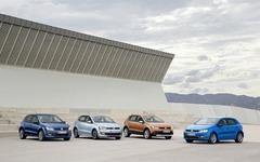 【ジュネーブモーターショー14】VW、新型ポロ 4機種を世界初公開 画像