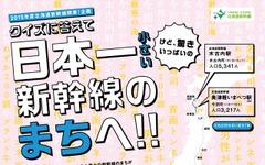 「日本一小さい」新幹線駅の停車本数当てるクイズ 画像