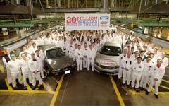 ホンダ、米国での四輪車生産累計2000万台を達成 画像