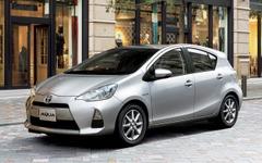 新車販売、アクアが2年連続トップ、軽7モデルがトップ10入り…2013年度車名別 画像