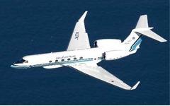 海上保安庁、マレーシア航空370便捜索活動を行っていたガルフVが帰国 画像