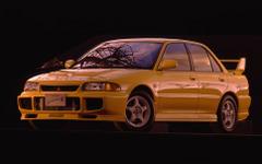 【三菱 ランエボ 生産終了】今でも人気高し、熟成の技術でWRCを席巻…3代目[写真蔵] 画像
