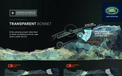 【ニューヨークモーターショー14】ランドローバー ディスカバリー、次期型コンセプトに画期的安全装備…ボンネットを透視 画像