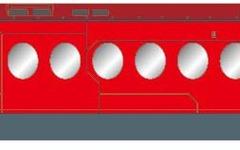 通常より3倍速い? 南海ラピートが「赤い彗星」に…「ガンダムUC」とタイアップ 画像