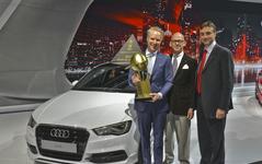 【ニューヨークモーターショー14】WCOTY ワールドカーオブザイヤー、アウディA3に栄冠…アクセラは及ばず 画像