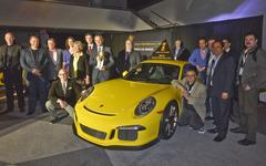 【ニューヨークモーターショー14】WCOTY パフォーマンスカー、ポルシェ 911 GT3 新型が受賞 画像