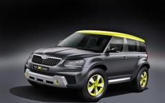 シュコダの小型SUV、イエティ…ラリーコンセプト登場 画像