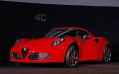 【アルファロメオ 4C 発表】小型スーパーカー日本市場へ 「手が届く」783万円から 画像