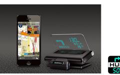 キャンバスマップル、Garmin HUD日本版にiPhone向けカーナビアプリを提供 画像