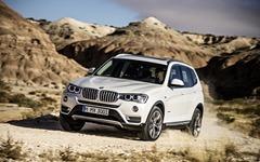 新型BMW X3 発売、エクステリア変更や安全装備充実など 画像