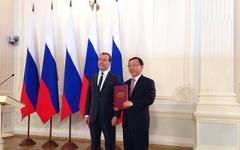 ヒュンダイ、ロシア国家品質賞を受賞…メドベージェフ首相が授与 画像