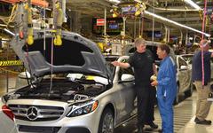 メルセデス Cクラス 新型、米国でも生産開始…ドイツと南アに続いて3拠点目 画像