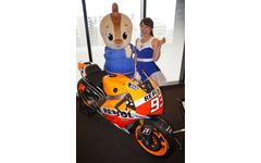 【Moto GP 日本GP】目の前をマシンが走る…ビクトリースタンドを新設 画像