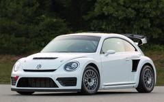 VW ザ・ビートル に ラリークロスレーサー…迫力アップ、544psを発揮 画像