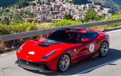 フェラーリ F12 TRS 、公式発表…57年式250テスタロッサモチーフのワンオフモデル 画像