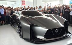 【グッドウッド14】日産 コンセプト2020 ビジョン グランツーリスモ、実車を公開…GT-R との共通点も 画像