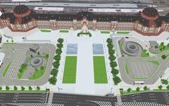 東京駅丸の内口に大規模歩行者空間…2017年完成目指す 画像