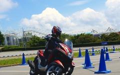 【ヤマハ トリシティ 試乗】バイク感覚で違和感なし、スポーツライディングさえ可能…和歌山利宏 画像