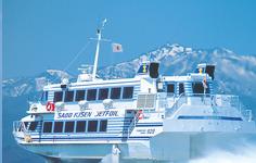 佐渡汽船、新潟~両津航路で無料Wi-Fiサービスの提供を開始 画像
